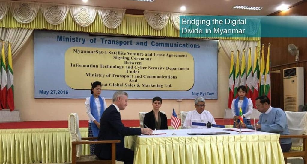 Ministry of Transportation and Communications in Myanmar