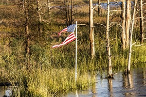 bahamas natural disaster picture with american flag