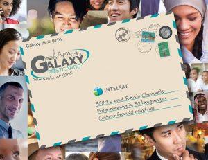 postcard for galaxy 19