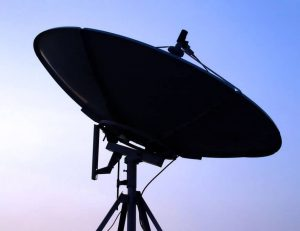 close-up photo of satellite dish