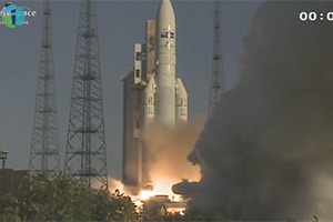 Intelsat 20 Satellite launch