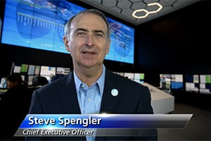 Stephenn Spengler talks about 32e Satellite launch