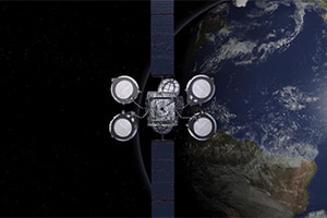 Intelsat 35e Satellite image