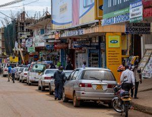uganda street scene