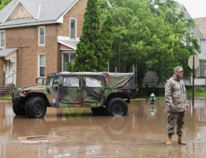 military help after disaster