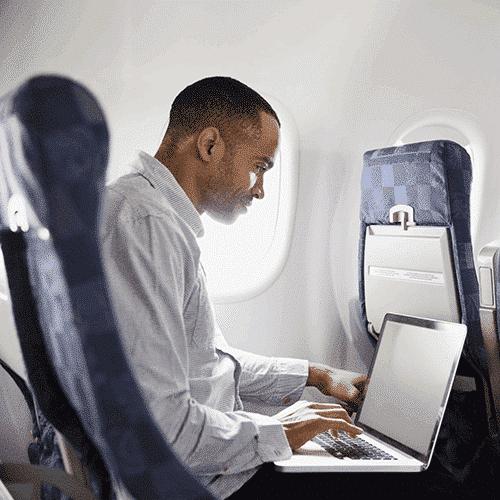 Man-on-airplane